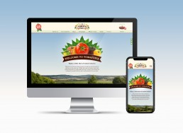 The Tomato Stall Website Design