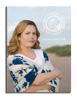 Liz Earle newsletter cover Autumn 08