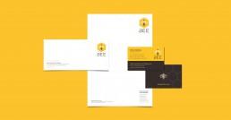 BEE stationery design