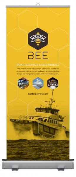 BEE pop up banner design