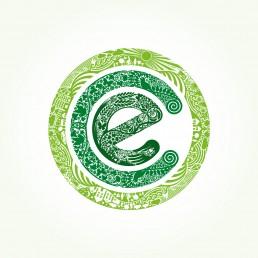 Eco Island Logo Design