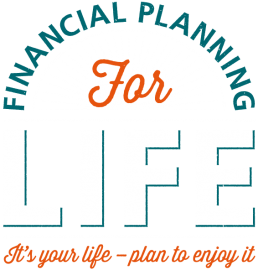 Financial Planning For Life Typography Design
