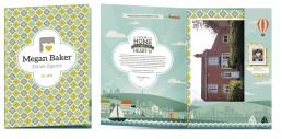 Megan Baker Estate Agents Brand Design