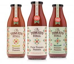 The Tomato Stall packaging design – Passatas
