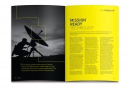 RFEL 20 year anniversary brochure design