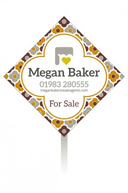 Megan Baker Estate Agents Sale Board Autumn Palette