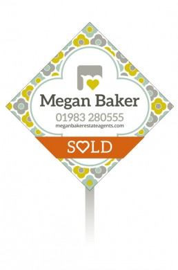Megan Baker Estate Agents Sale Board Spring Palette