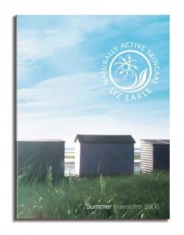 Liz Earle newsletter cover summer 06
