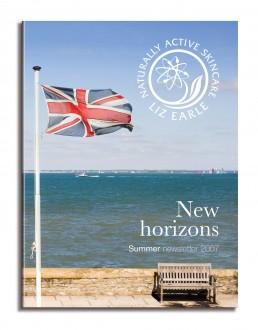 Liz Earle newsletter cover summer 07