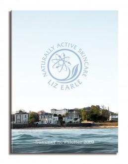 Liz Earle newsletter cover summer 09