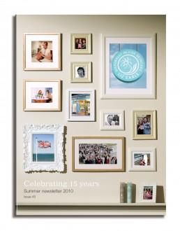Liz Earle newsletter cover summer 10