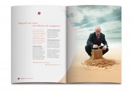 TRACKER Vehicle Asset Management brochure design
