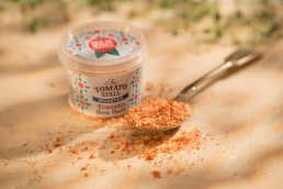 Tomato Sea Salt packaging