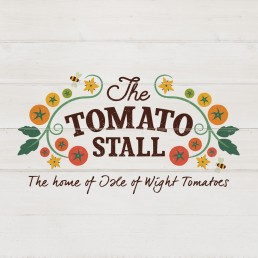 The Tomato Stall Logo Design