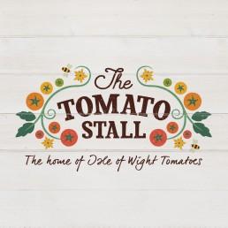 The Tomato Stall Logo Design