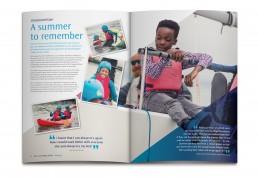 UKSA Impact Report Brochure Design