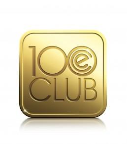100 Club Logo Design