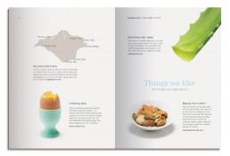 Liz Earle Brochure Design