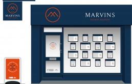 Marvins Estate Agents Brand Design