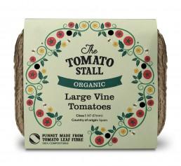 The Tomato Stall punnet packaging design