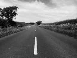 long road at 23 miles