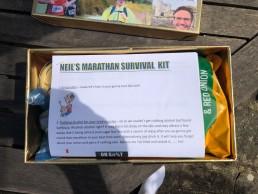 Marathon 35, survival kit