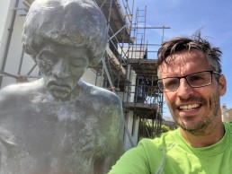 Dimbola Lodge, Jimi Hendrix statue