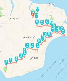 Monumental Marathon Route