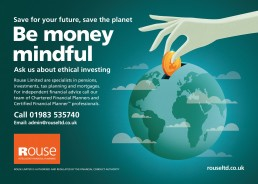 Ethical investment advert