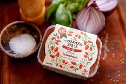 Plum Tomatoes packaging design