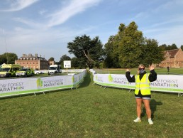New Forest Marathon start area