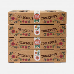 The Tomato Stall plastic-free punnet design