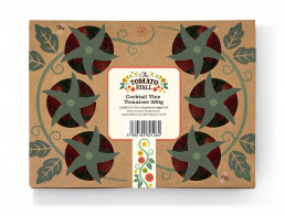 The Tomato Stall packaging design
